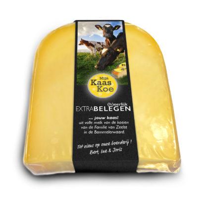 Mijn Kaaskoe extra belegen goudse kaas